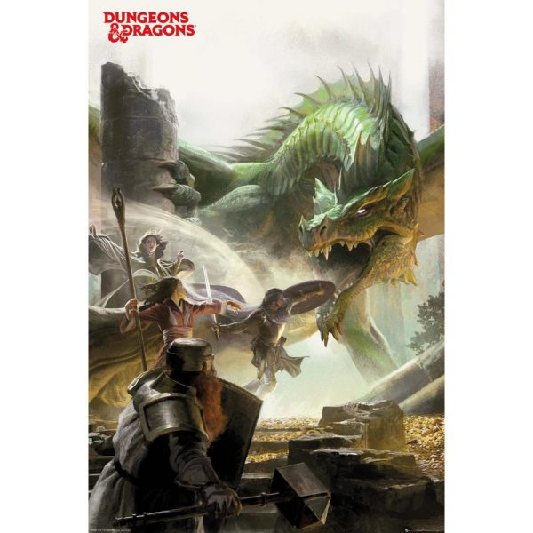 Dungeons & Dragons Poster Adventure 109