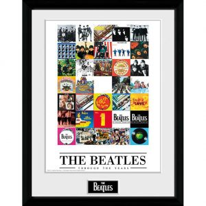 The Beatles Picture Through The Years 16 x 12