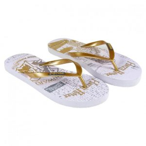 Harry Potter Ladies Flip Flops Golden Snitch Size 40
