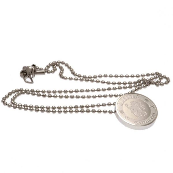 Chelsea FC Stainless Steel Pendant & Chain