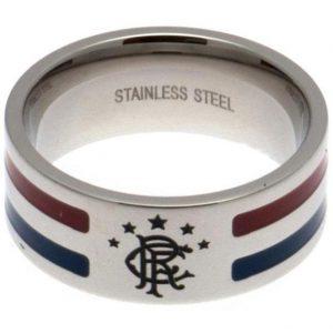 Rangers FC Colour Stripe Ring Small