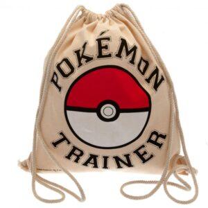 Pokemon Canvas Drawstring Bag