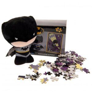 Batman Plush & 3D Puzzle