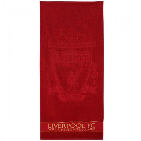 Liverpool FC Embossed Jacquard Towel