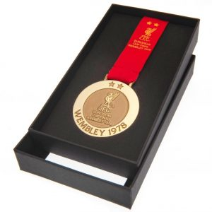 Liverpool FC Wembley 78 Replica Medal
