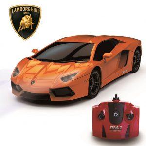 Lamborghini Aventador Radio Controlled Car 1:24 Scale Orange
