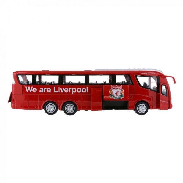 Liverpool FC Team Bus