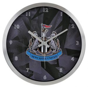 Newcastle United FC Metal Wall Clock