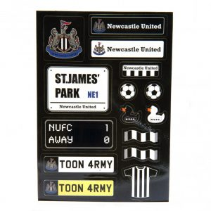 Newcastle United FC Sticker Set