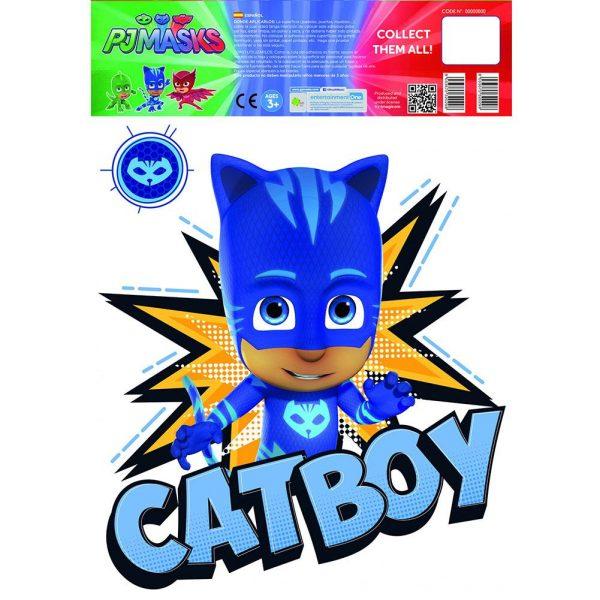 PJ Masks Wall Sticker A3 Catboy