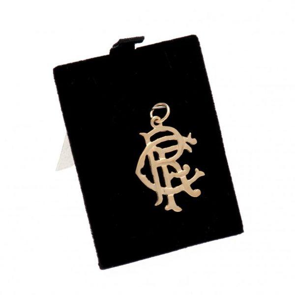 Rangers FC 9ct Gold Pendant Medium