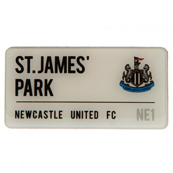Newcastle United FC Street Sign Fridge Magnet