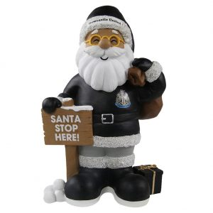 Newcastle United FC Resin Santa Gnome