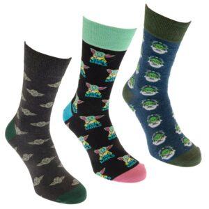 Star Wars: The Mandalorian 3pk Socks Gift Box