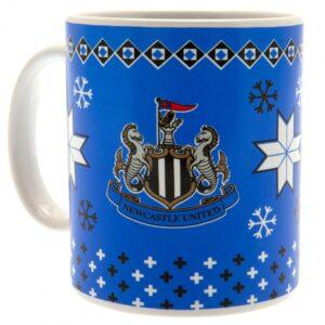 Newcastle United FC Christmas Mug