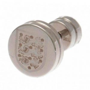 England FA Stainless Steel Stud Earring