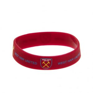 West Ham United FC Silicone Wristband
