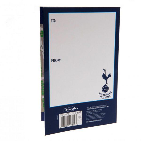 Tottenham Hotspur FC Pop-Up Birthday Card