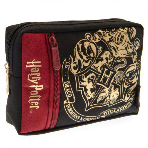 Harry Potter Multi Pocket Pencil Case Hogwarts
