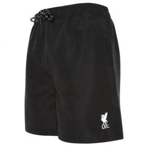 Liverpool FC Board Shorts Mens Black L