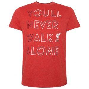 Liverpool FC YNWA T Shirt Mens Red XL