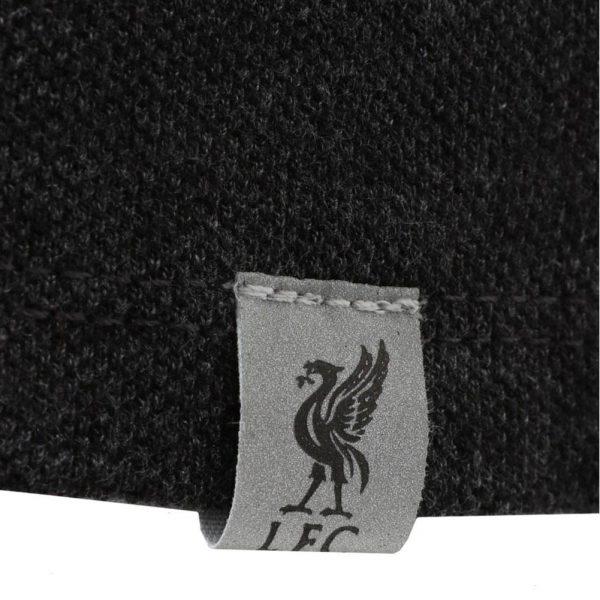 Liverpool FC Neon Panel Polo Mens Charcoal M