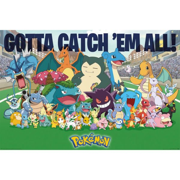 Pokemon Poster All Time Favorites 187