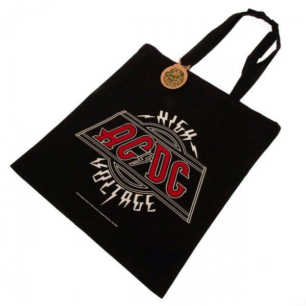AC/DC Canvas Tote Bag