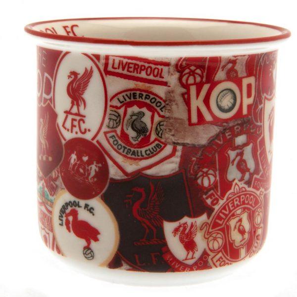 Liverpool FC Retro Print Mug
