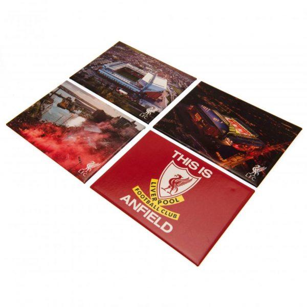Liverpool FC 4pk Fridge Magnet Set