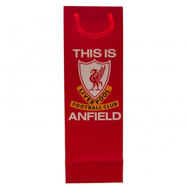 Liverpool FC Bottle Gift Bag