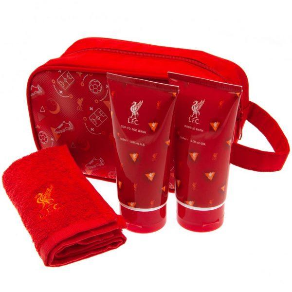Liverpool FC Junior Washbag Gift Set