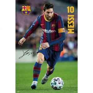 FC Barcelona Poster Messi 5