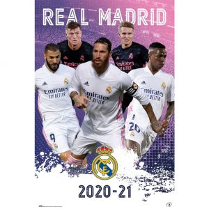 Real Madrid FC Poster Players 23