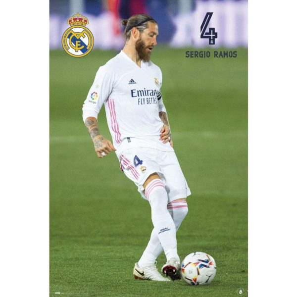 Real Madrid FC Poster Ramos 26