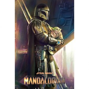 Star Wars: The Mandalorian Poster Clan Of Two 148