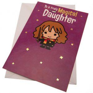 Harry Potter Birthday Card Daughter