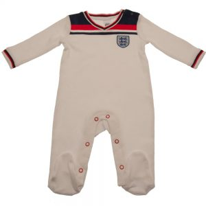 England FA Sleepsuit 82 Retro 6/9 mths