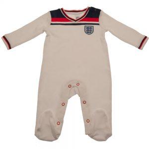 England FA Sleepsuit 82 Retro 12/18 mths