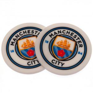 Manchester City FC 2pk Coaster Set