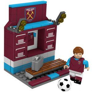 West Ham United FC Brick Changing Room