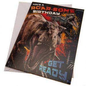 Jurassic World Birthday Sound Card
