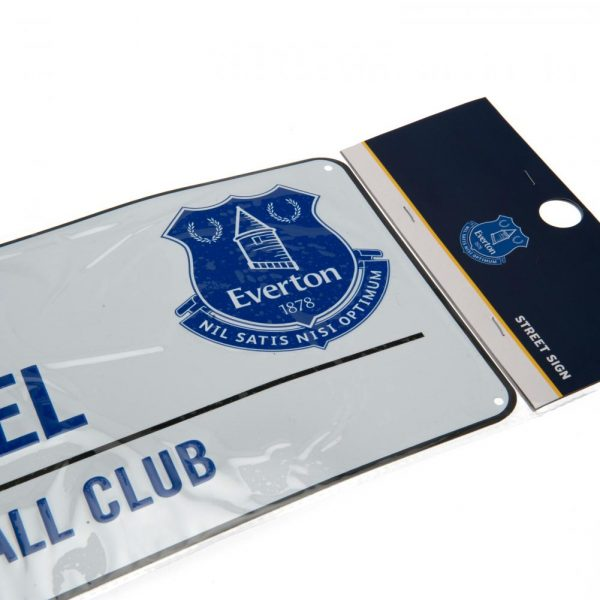 Everton FC Street Sign