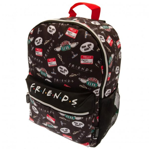 Friends Backpack Infographic