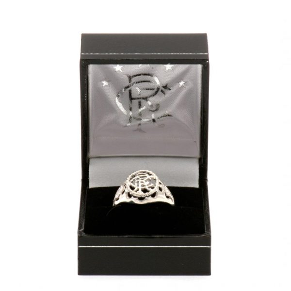 Rangers FC Sterling Silver Ring Large