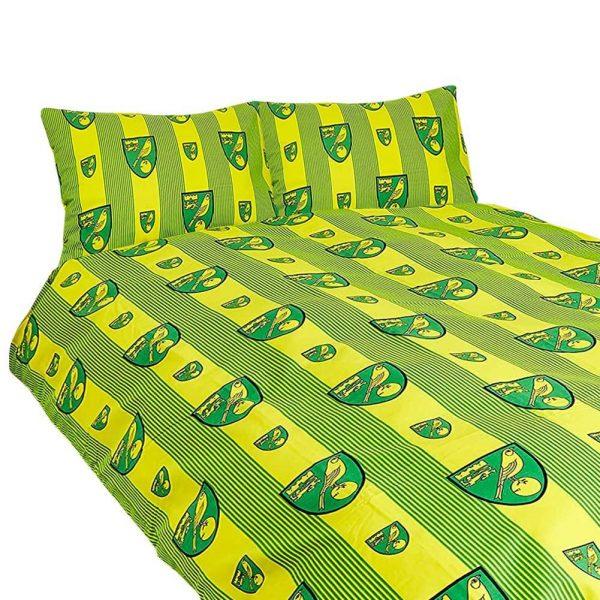 Norwich City FC Double Duvet Set