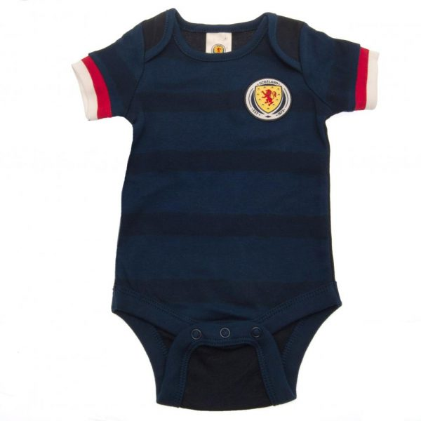 Scotland FA 2 Pack Bodysuit 3/6 mths