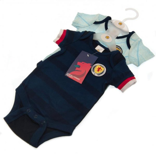 Scotland FA 2 Pack Bodysuit 6/9 mths
