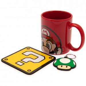 Super Mario Mug & Coaster Set Mario