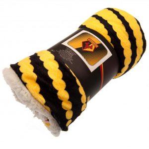 Watford FC Sherpa Fleece Blanket